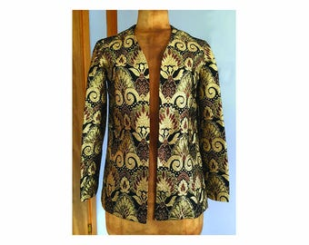 Vintage 1970's psychedelic sparkly Jacket