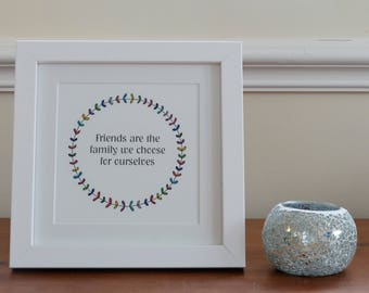 Friendship print- unframed