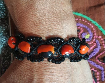 Shipibo Huayruro Seed Bracelet SALE