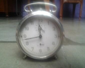 vintage Mechanical table alarm clock