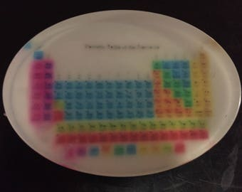 Table of the Elements Glycerine Soap
