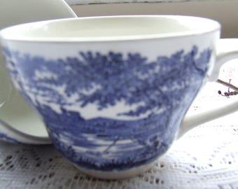 Two Vintage Tea Cups