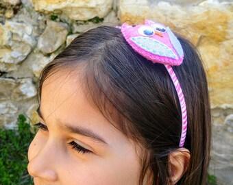 Cute Owl Headband, Owl, Girls Headband, Hair Accessories