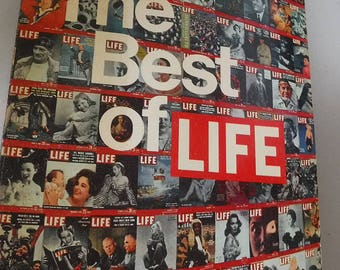 The Best of Life Magazine 1973 306 pages Color Hard cover