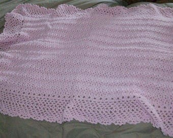 Baby Pink baby blanket