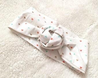 Spring Triangle Nany Headwrap