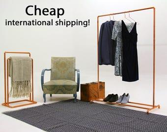 Copper Pipe Clothing Rack / Garment Rack / Clothes Rail