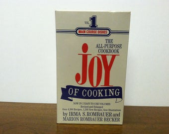 Vintage Cookbook Joy of Cooking Cookbook C. 1974 -2 Volumes -Over 4,300 Recipes -Sealed Boxed Set