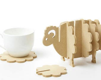 Sheepy Coasters