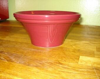 Cinnabar Discontinued Fiestaware Hostess Bowl