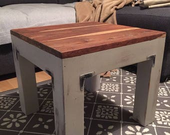 Side table, coffee table, footstool wood solid wood stool for lamp table