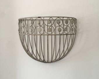 Vintage Wall Planter