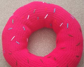Large donut cushion