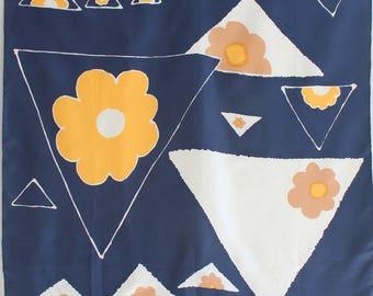 CHRISTIAN DIOR silk 75 cm square scarf