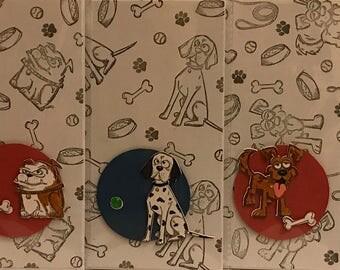Dog themed cards, blank cards