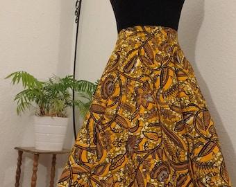 Beautiful african short skirt
