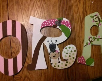 CUSTOM PAINTED LETTERS