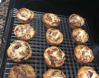 Homemade StrueBerry Muffins