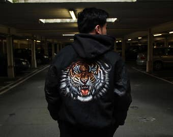 Everything's Gucci Tiger Bomber Jacket