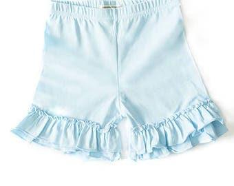 Girls Ruffle Shorts