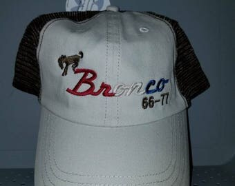 Early Bronco khaki American hat