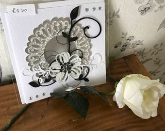 Handmade 3D birthday card