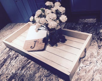 Rustic Distressed Serving Tray