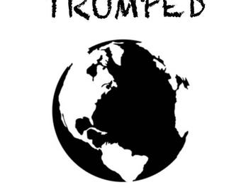 """Giclée print """"Trumped - world"""", limited edition of 10 from the series """"Trumped"""" by art news"""