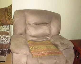 Green Recliner by Sears Home, Three Years Old