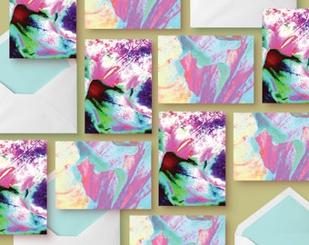 Rose Seriese | 5 - Cards  (photographic cards)
