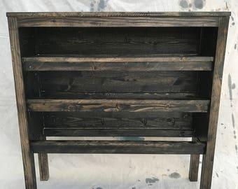Mason Jar Shelf