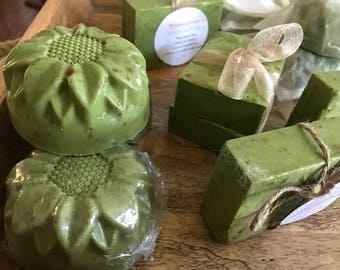 Green with Envy Soap  FREE SHIPPING!