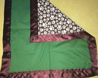 Dark Green Blanket
