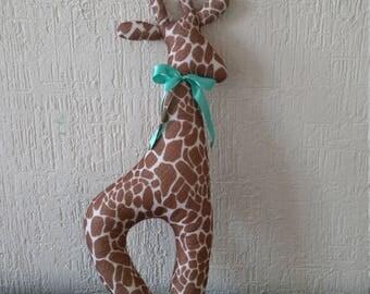 Decorative cushion giraffe