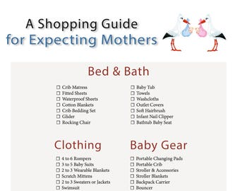 Shopping Guide for Expecting Mothers