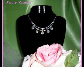 WEDDING set charm NECKLACE
