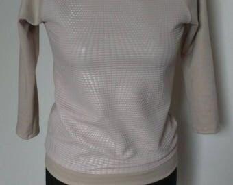 baige long sleeve blouse