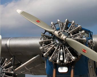 """Ford Trimotor - Canvas Print - 20"""" x 16"""""""
