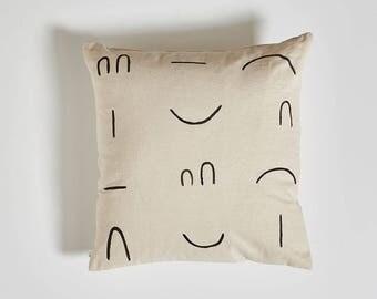 Line Pillow - Neutral