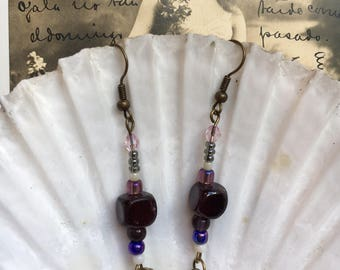 Boho dangle earrings.