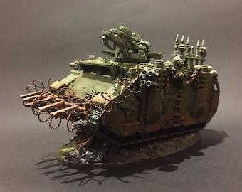 Nurgle 40K Rhino Tank Painted to Order