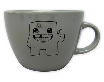 Meat Boy Fan Art Coffee Mug- Meat Boy Mug