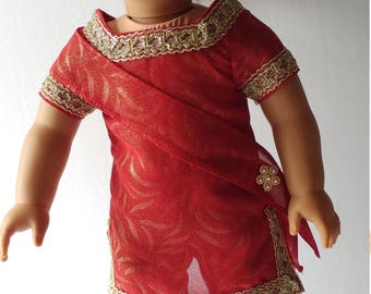 "18"" doll outfit indian style"