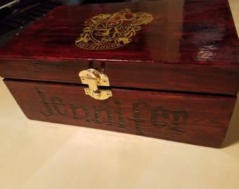Harry Potter Inspired Music Box