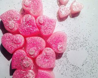 Pink sugar soy wax melts