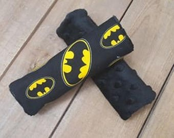 Batman Reversible Car Seat Strap Covers - Baby Items
