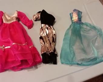 Barbie Dress lot