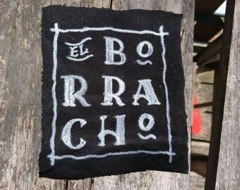 El Borracho Denim Patch