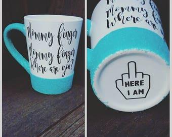 Family Finger Coffee Mug