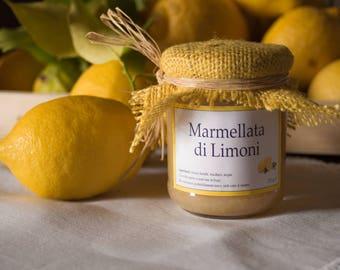 Handmade Extra Jam with organic Lemons